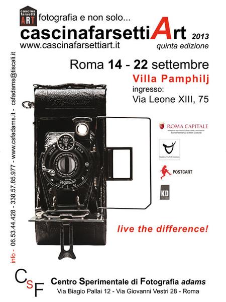Cascina farsetti art 2013 fotografia e non solo mostra for Via leone xiii roma