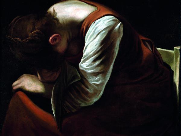 Caravaggio, Maddalena Addolorata, 1605-1606
