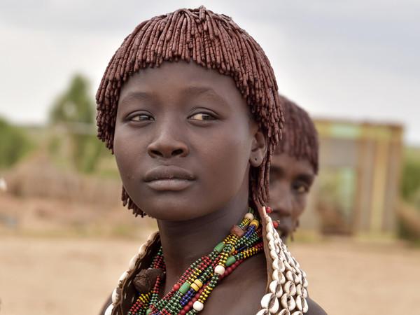 Etiopia, Valle dell'Omo: Turmi, popolazione Hamer | Foto: © Carlo Franchini