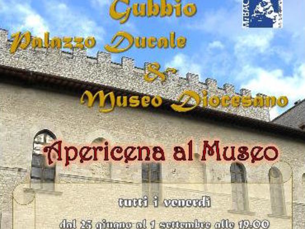 Apericena al Museo, Gubbio