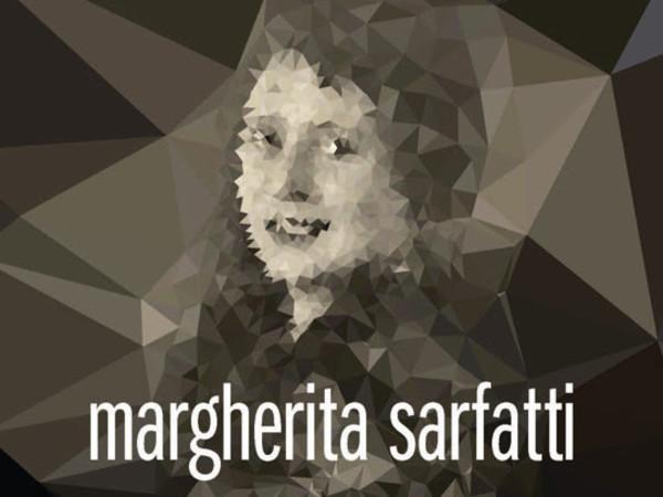 Margherita Sarfatti con pelliccia, fotografia dello studio Riess di Berlino, 1929. Mart, Archivio del '900, Fondo Sarfatti. Rielaborazione grafica