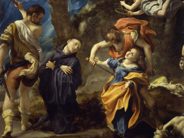 <span>Antonio Allegri detto il Correggio, Martirio dei santi Placido, Flavia, Eutichio e Vittorino, 1524 circa. Olio su tela. Parma, Abbazia di San Giovanni Evangelista</span>