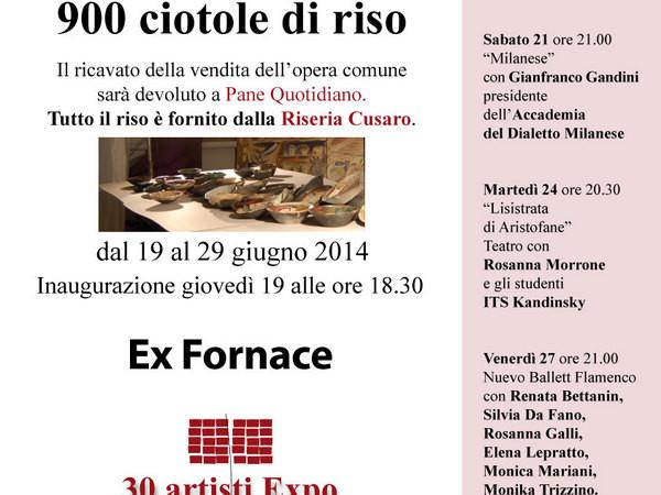 Porphyreos Kardia. 900 ciotole di riso, Ex Fornace, Milano