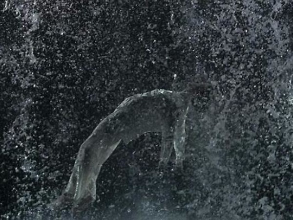 Bill Viola, Tristan's Ascension, particolare