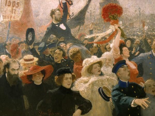 Il&rsquo;ja Repin, <em>17 ottobre 1905</em>, 1910,&nbsp;Olio su tela | &copy; State Russian Museum, St. Petersburg