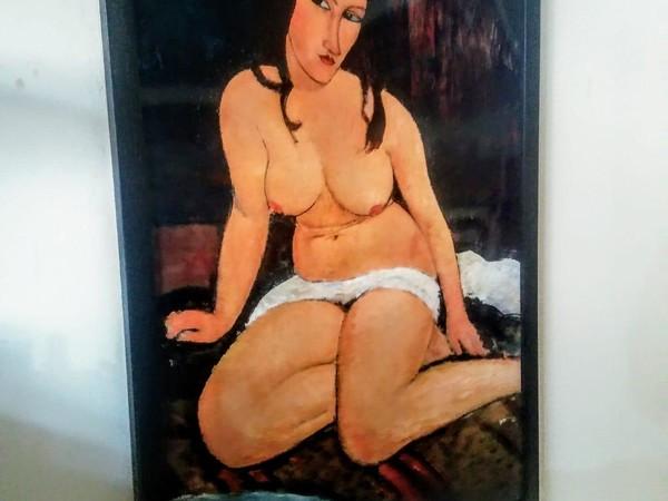 Opera di Amedeo Modigliani alla Alson Gallery, Milano