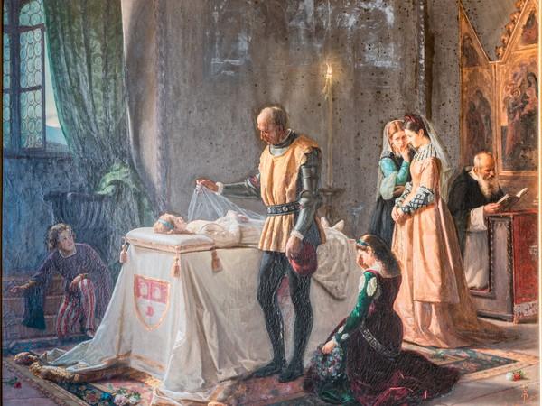 Ponziano Loverini, L'ultimo saluto del Colleoni alla figlia Medea