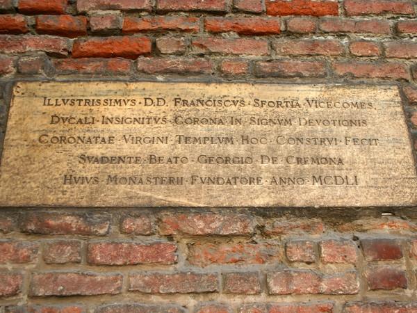 Lastra tombale dell'arcivescovo Gabriele Sforza
