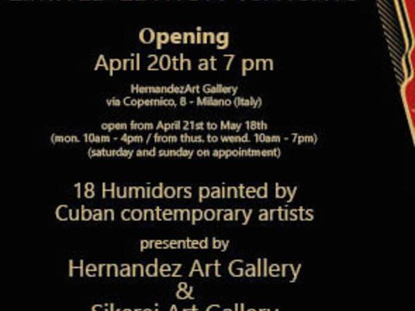 Milan Art Cigar 2017, Hernandez Art Gallery, MIlano