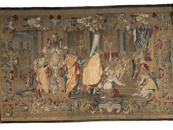 La consacrazione del Battistero di Firenze, disegno e cartone di Federico di Lamberto Sustris, tessitura di Benedetto Squilli, 1563-1564. Firenze, Gallerie degli Uffizi