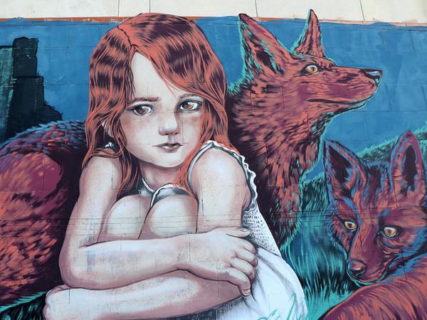 """Murales di Alessandra """"Senso"""" Odoni"""
