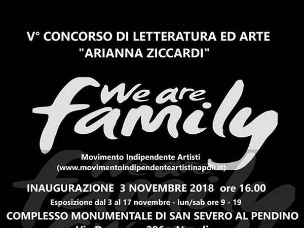 We are family, Complesso Monumentale della Chiesa di San Severo al Pendino, Napoli