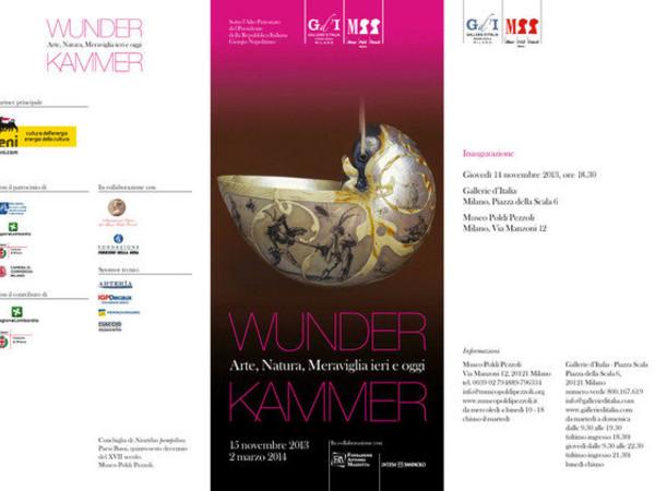 Wunderkammer. Arte, Natura, Meraviglia ieri e oggi, Milano