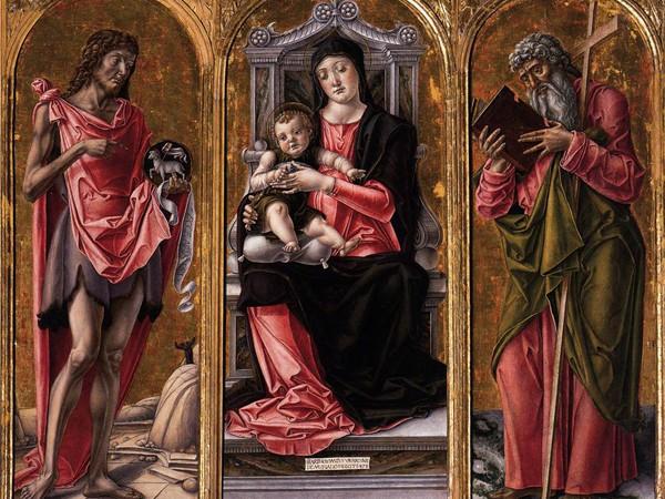 Madonna con Bambino tra Giovanni Battista e Andrea
