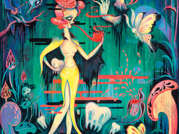Camille Rose Garcia, Ghost Moth Serenade