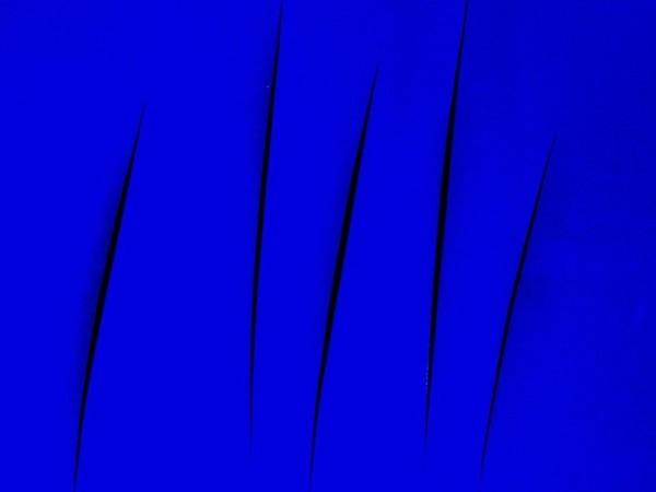 Lucio Fontana, L'attesa, Il telefono rotto, 1959-66, 759x500