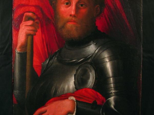 Artista toscano, San Torp&egrave;, sec. XVI, olio su tavola, cm 80x54&nbsp;(Recupero CC TPC).&nbsp; Pisa, Museo Nazionale San Matteo<br />