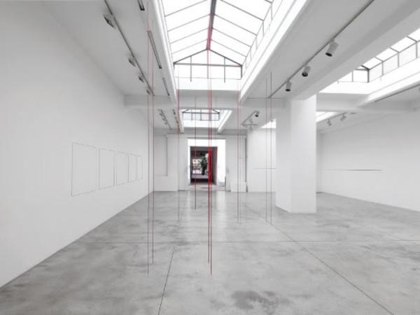 Fred Sandback, Cardi Gallery, Milano