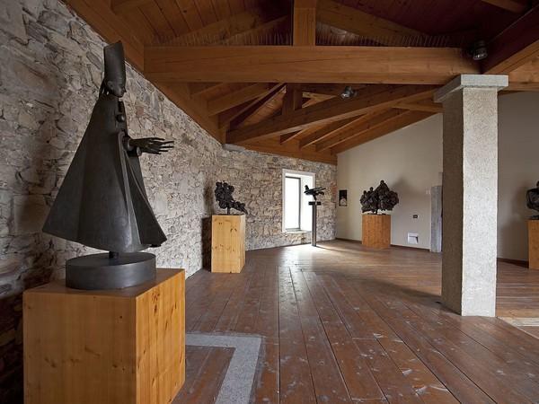 Loggiato, Museo Civico Floriano Bodini, Gemonio I Ph. Sara Baroni