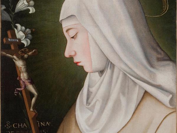 Suor Plautilla Nelli, Santa Caterina de' Ricci, olio su tela. Siena, Convento di San Domenico