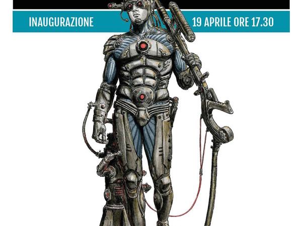 Cyborg Invasion, MANN - Museo Archeologico Nazionale di Napoli