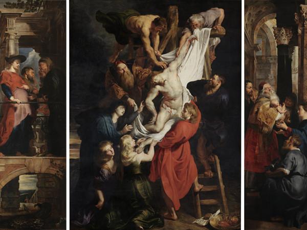 La deposizione dalla croce. Rosso Fiorentino e altri artisti. 76195-2_Peter_Paul_Rubens_-_Descent_from_the_Cross_-_WGA20212