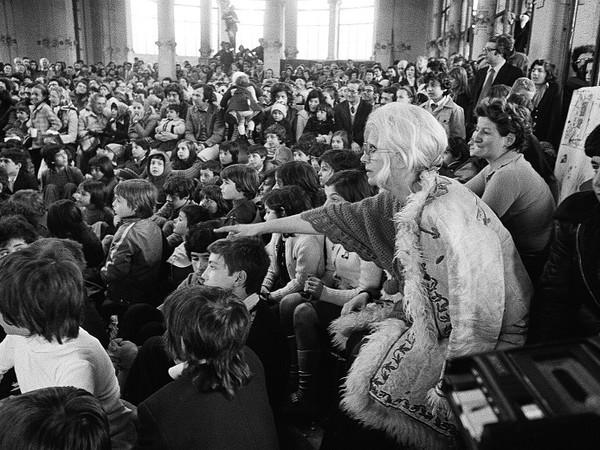 Letizia Battaglia, <em>Franca Rame alla Palazzina Liberty</em>, Milano, 1974 | &copy; Letizia Battaglia<br />