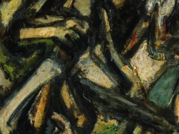 Emilio Vedova, Trittico dell'Angelo (dettaglio)