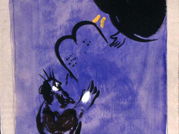 Foto al chiostro del bramante la mostra marc chagall love and life foto 3 - Le tavole della legge ...