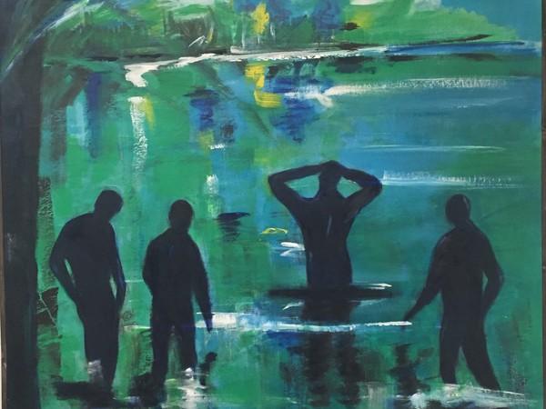 Teresa Maresca, <span>Song of Myself 142, 2017, cm. 75x85</span>