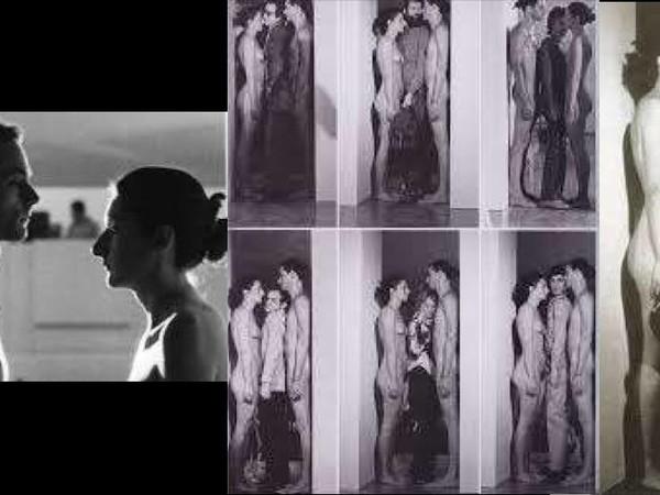 Marina Abramović e Ulay, Imponderabilia, video della performance, Galleria d'Arte Moderna, Bologna, 1977