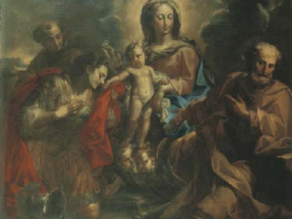 Sacra Famiglia e Sant'Antonio da Padova