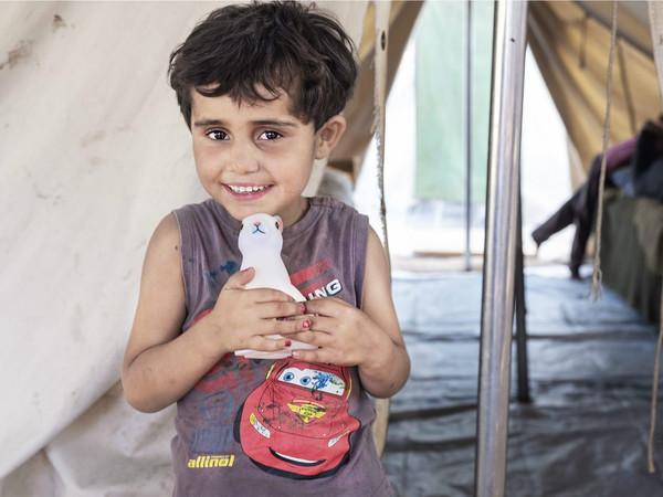 Elena Givone, Dilber, 7 anni, Aleppo