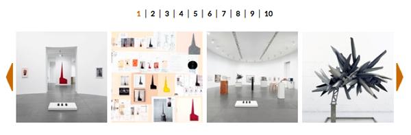 La galleria immagini della mostra alla Gagosian gallery di Roma