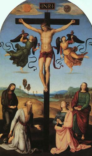 Crocifisso gavari di raffaello sanzio descrizione dell for Mostre d arte in corso