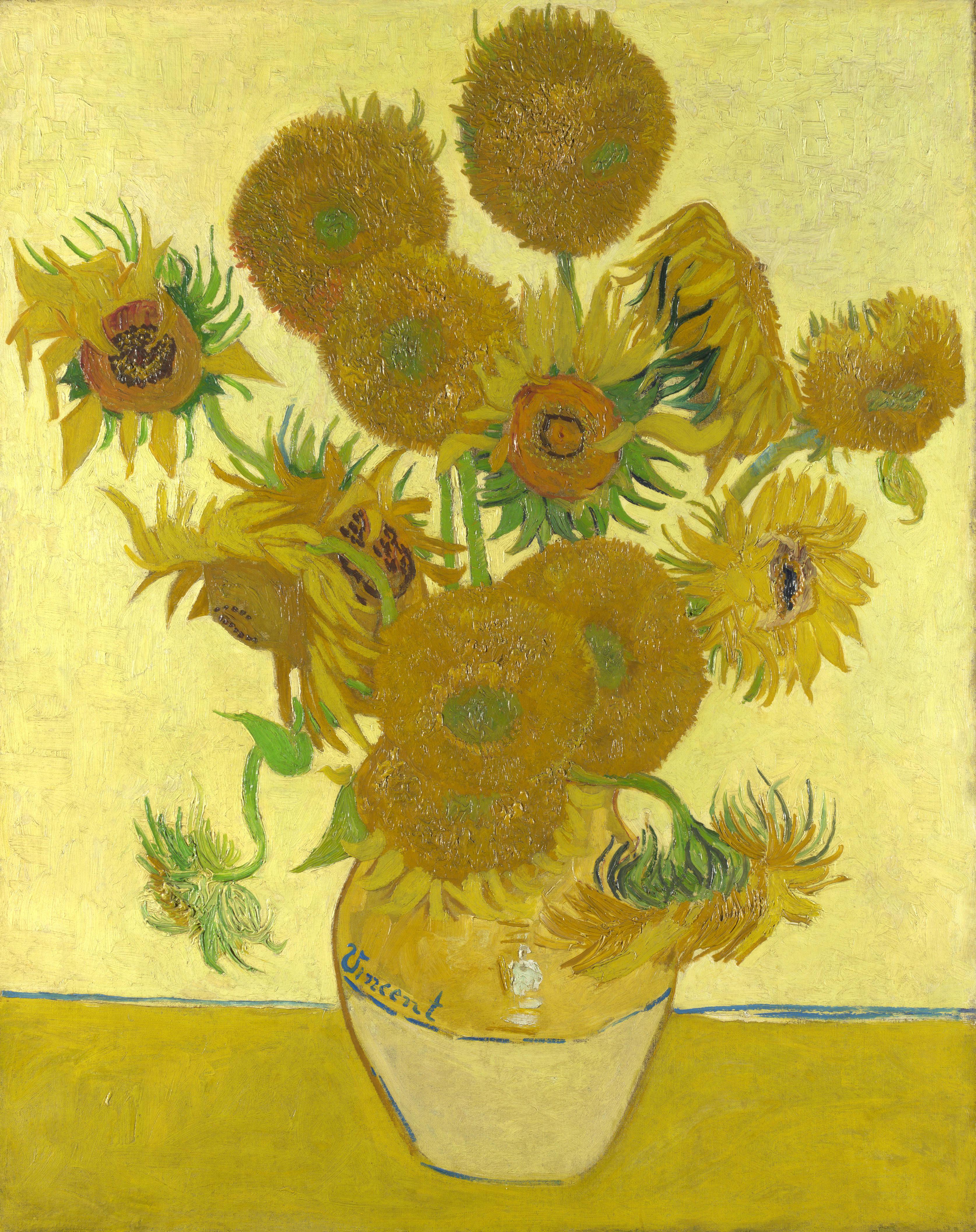 Mazzo Di Fiori Van Gogh.I Girasoli Di Van Gogh La Felicita Oltre La Follia Mondo Arte It