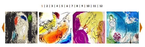 FOTO: Le poesie a colori di Marc Chagall