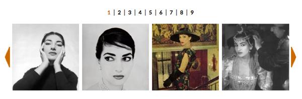 Maria Callas. The Exhibition. La galleria immagini