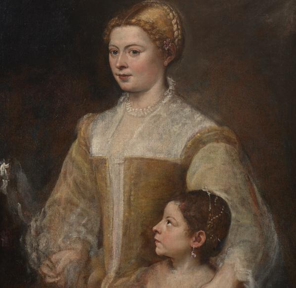 Rubens et de Van Dyck jamais vu dans l'arrivée à Venise