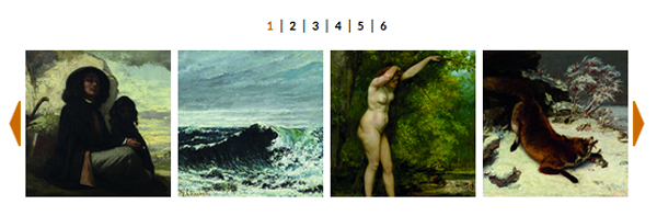 FOTO: La grande musa di Courbet