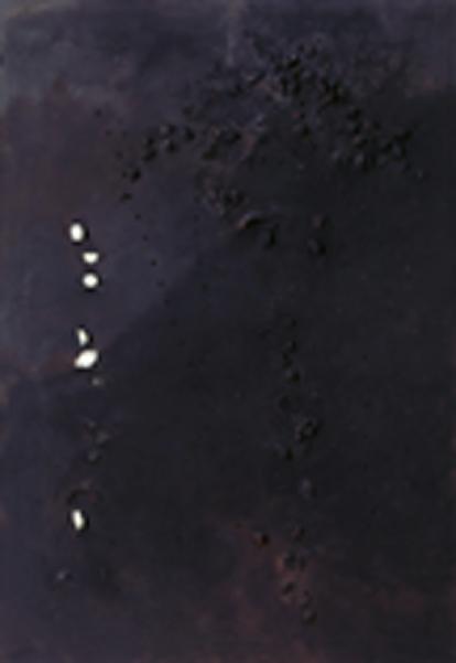 Lucio Fontana - Concetto spaziale, 1955