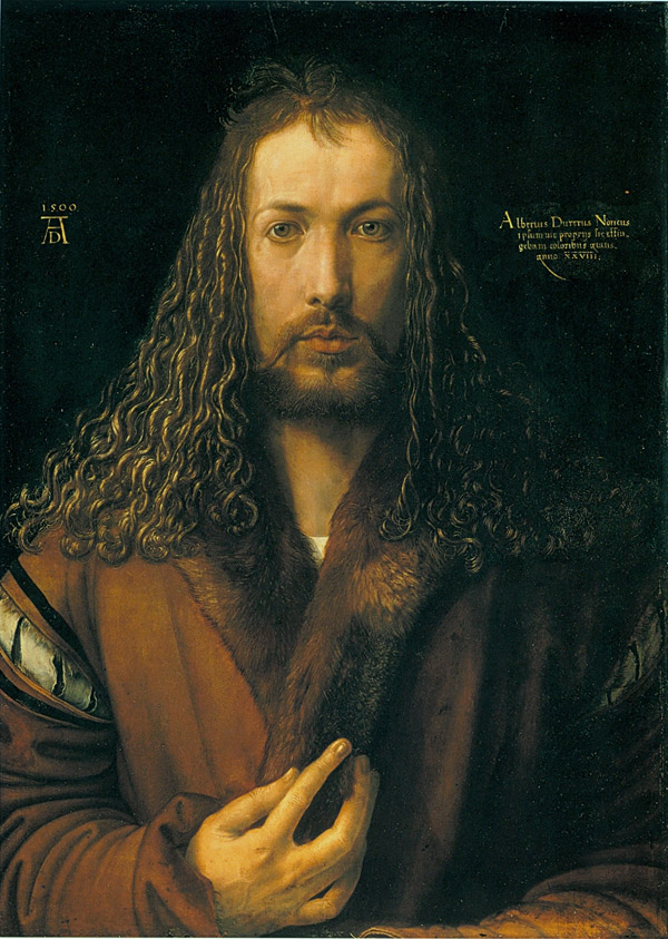 Albrecht Dürer, Autoritratto con Pelliccia