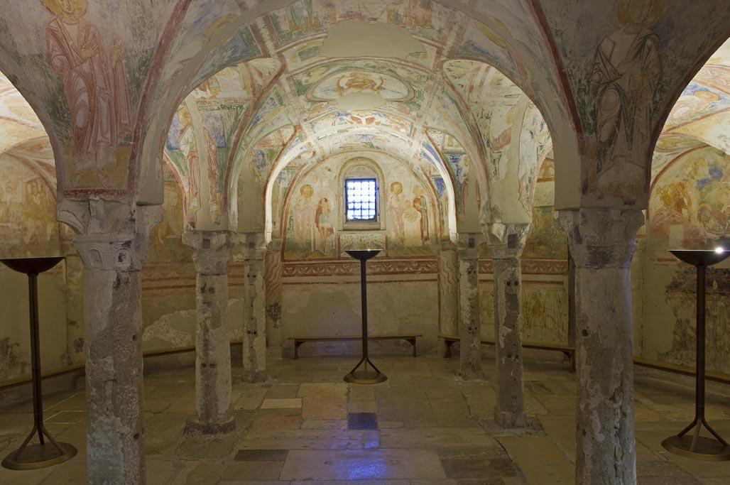 Cripta degli affreschi di descrizione dellopera e mostre for Mostre d arte in corso