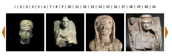 FOTO: Volti di Palmira ad Aquileia