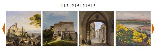 FOTO: Montepulciano e la Città Eterna. Paesaggi e vedute dall'estetica del Grand Tour alla metà del XX secolo