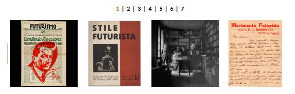 GALLERIA IMMAGINI : Umberto Boccioni nei documenti dell'Archivio del '900