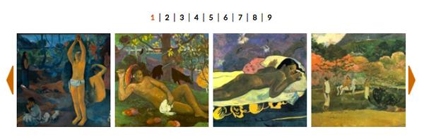 FOTO - Il Paradiso Perduto di Gauguin