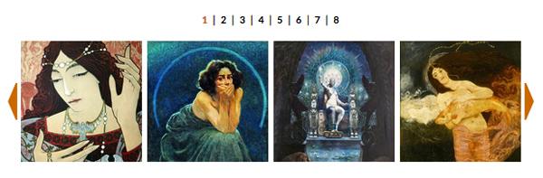 FOTO: Arte e Magia. Esoterismi nella pittura europea dal Simbolismo alle Avanguardie Storiche