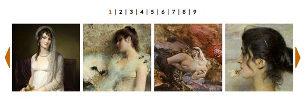 FOTO - Donne nell'Arte