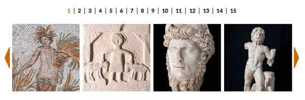 La galleria immagini della mostra al Museo Archeologico Nazionale